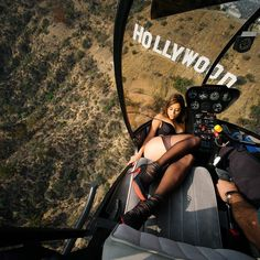 Interesting view of Hollywood