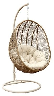 Abbyson Lamport Swinging Egg Chair