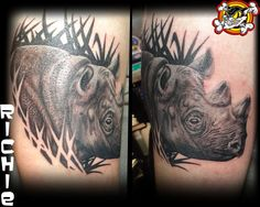 We have a wild throwback tattoo today! Done by Richie!
