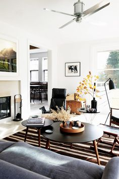 This small bungalow is bursting with polished rural details / Domaine