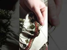 Broderie/tehnici de cusut : feston dublu - YouTube Cos, Youtube, Style, Embroidery, Swag, Youtubers, Outfits, Youtube Movies