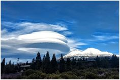 GELATO GLOBAL PRINT - Landscape Aluminum Print - Mt Shasta with Lenticular Cloud - North CA USA El Yunque Rainforest, Lenticular Clouds, Mount Shasta, Ca Usa, Active Volcano, Metallic Prints, Us National Parks, Gelato, This Or That Questions