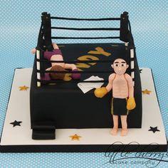 Thai Kickboxing Cake