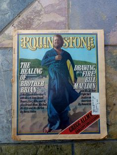Rolling Stone Magazine with Brian Wilson of the by OatesGeneral