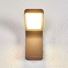 Maddox contemporary LED outdoor wall light | Lights.ie