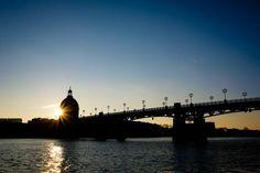 St Pierre's bridge in Toulouse.
