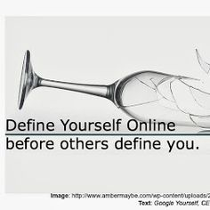 Do you want to define yourself online or let other do it? Take charge of your online presence! Brand yourself online before others have the chance to do it for you!