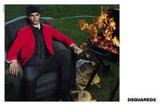 Arran Sly - DSQUARED2 A/W 2014 by Mert & Marcus