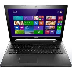 """Lenovo IdeaPad Z50 80EC000TUS 15.6"""" LED Notebook, AMD A10-7300, 1.9GHz, 8GB DDR3, 1TB HDD, DVD+/-RW, Windows 8.1, Black (Lenovo80EC000TUS )"""