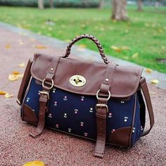 Buy 'SUPER LOVER – Panel Floral Satchel' with Free International Shipping at YesStyle.com. Browse and shop for thousands of Asian fashion items from China and more!