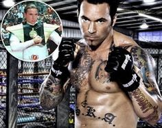 Jason David Frank, better known as Tommy from The Power Rangers.