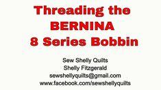 Threading the BERNINA 8 Series bobbin