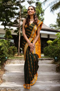 Sambalpuri Saree, Saree Blouse, Silk Sarees, The Allure, Strands, My Wardrobe, Indian Fashion, Beautiful Outfits, Mustard