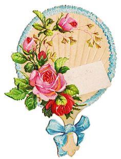 Victorian die cut image