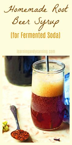 Whip up some homemade root beer syrup. It keeps well, and can easily be turned into fermented soda. Perfect for those hot summer days!