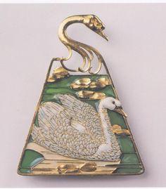 fleurdulys: Swan Pendant - Rene Lalique
