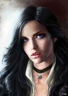 Yennefer of Vengerberg - The Witcher - Image - Zerochan Anime Image Board The Witcher Wild Hunt, The Witcher Game, The Witcher Geralt, Witcher Art, Ciri, Fantasy Portraits, Character Portraits, Fantasy Artwork, Character Art