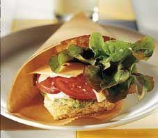 Vegeburgeri ✦ Katso kaikki reseptit ammattilaisille: http://valio.ly/ruokaohjeet-ammattilaisille