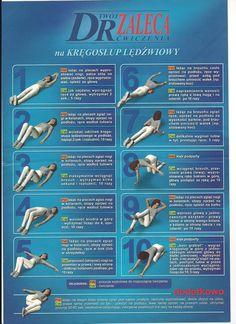 … pomóż kręgosłupowi … | Medycyna naturalna, nasze zdrowie, fizyczność i duchowość Live Fit, My Gym, Back Exercises, Sciatica, Preschool Learning, I Work Out, Physical Therapy, Excercise, Back Pain