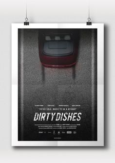 DIRTY DISHES - Graphic design and art direction of the short film 'Dirty Dishes', written and directed by Francesc Rosado.