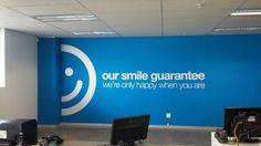 Takealot Head office Wallpaper & Vinyl Installation - www.vinylimpression.co.uk: