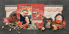 Scrap-Utopia: You & Me (KaiserCraft inspired) Scrapbooking Layouts, Scrapbook Pages, Paper Art, Paper Crafts, Wedding Scrapbook, Diy Design, Layout Design, Design Ideas, Creative Inspiration