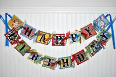 SPECIAL ORDER for Shelly Toy Story Birthday Banner Party