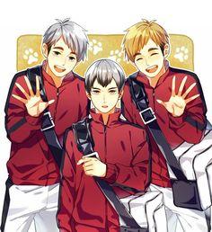 Haruichi Furudate, Haikyuu 3, Twins, Anime, Cute, Random Stuff, Manga, Sayings, Clothes