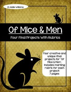 Of mice and men research paper