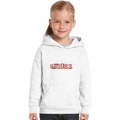 Roblox Title Kids Hoodie