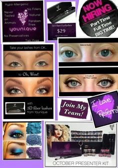 """I LOVE My Job!"" When you become a Younique Presenter you get to do what you love, when you want to do it, while helping others along the way. Owning your own home-based business has never been easier or more rewarding.Simply purchase the New Presenter Starter kit and join our team today to experience the perks, inspire women around you, and be able to scream from the roof-tops that you LOVE your job! What could be better than that?"
