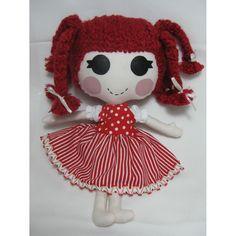 #ladybird2turtle #pinadayoct #handmadeicovet $55.00 Red Haired Sweet Loli by JacspratCreations on Handmade Australia
