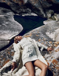 Lily Donaldson by Emma Summerton for Vogue Japan October 2015 | The Fashionography