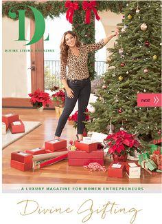 Divine Living Magazine Week 2 - December 11, 2015  http://www.divineliving.com/magazine/december-11-2015/