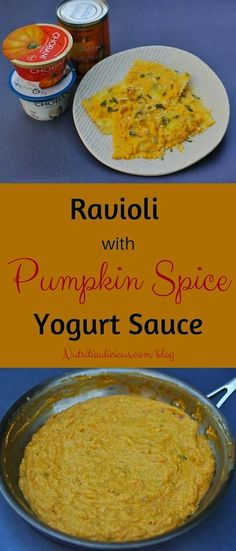 Yogurt, pumpkin, and
