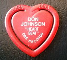 DON JOHNSON Heart Beat Guitar Pick Promo by SoundNLightIndustry