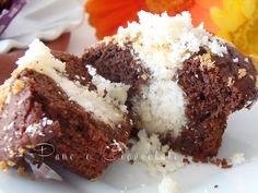 Muffin alla nutella ripieni al cocco |Pane e Cioccolato