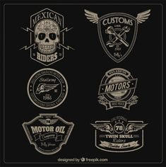 Motors-badges