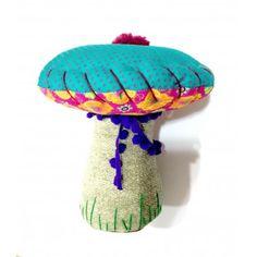 Cogumelo Turquesa