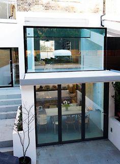 extension maison deux étages derrière-cours #maison #style #home #house