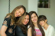 Meus PACOTYNHOS lyndjos! Valentina, Eu,  Alice e Luiza!  No meu Cafofo Lindo - Aracê - Pedra Azul - ES