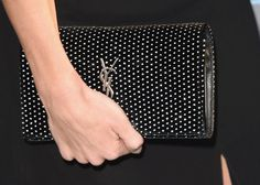 Pin for Later: The Little Things Made Big Statements at the Critics' Choice Awards Rosie Huntington-Whiteley Carrying a YSL bag.