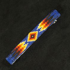 Navajo beaded barrette