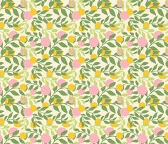 grote kamer? Spring fabric by thislittlestreet on Spoonflower - custom fabric
