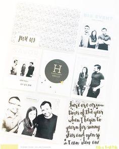 Sneak peeks of December Pocket Life Kit from @citrustwistkits  #projectlife2016 #PLcelina2016