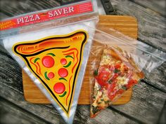 Pizza Bags.  Why don't I have these?  #simplegenius