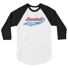 You can't forget about Nana supporting the team! A modern baseball style raglan made from a comfortable poly-cotton blend. • Unisex (women may want to size down) • 50/50 polyester/ combed ring-spun co