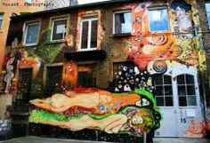 """""""tribute to Gustav Klimt""""  Artist: MOOHEE  City: Mannheim-Jungbusch"""