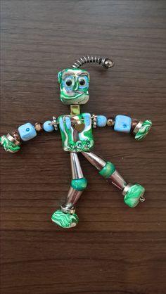 fimo, polymer clay robotík