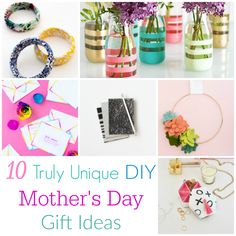 10 Truly Unique DIY Mother's Day Gift Ideas